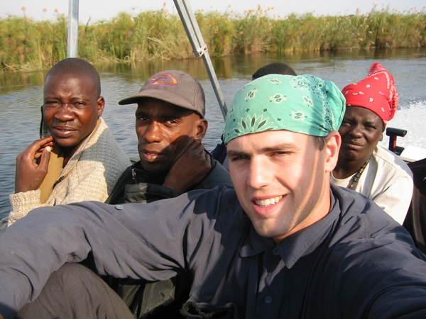 White people in botswana